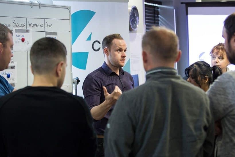 Aaron McKenna - Agile Training with 4Com